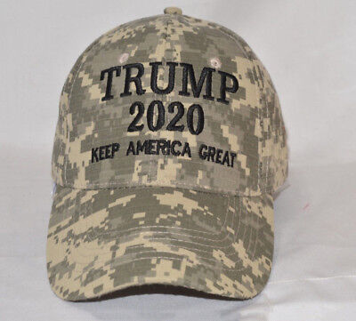 Trump 2020 Hat Digital Camo Keep America Great KAG Make America Great Again aa