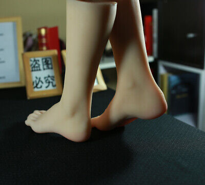 New Luxury 1pair Womens Realistic Silicone Soft Female Mannequin Foot Model 36t