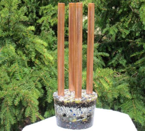 Orgone Cloudbuster Chembuster Enhanced Multi-Crystal 7.83Hz Anti-EMF Chemtrails