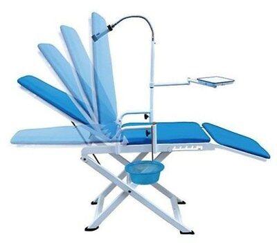 Portable Folding Dental Mobile Chair With Cuspidor Tray Equipment Gu-p109a-2
