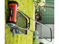 * NEW *LESS HALF PRICE! Cylinder manual lawnmower Easy Push/Lightweight+ Bag