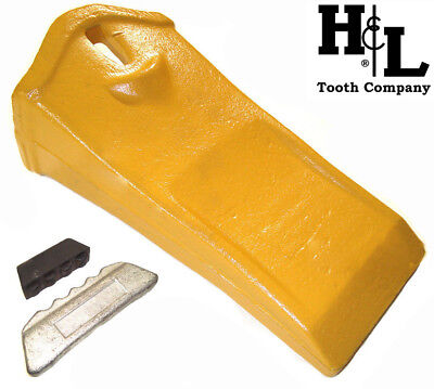 55lp Esco Style Conical Long Panel Bucket Teeth Forged In Usa By Hl Tooth Co.