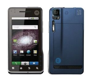 Motorola Milestone XT720 Silver Blue Android WiFi 8MP Blue without Simlock new
