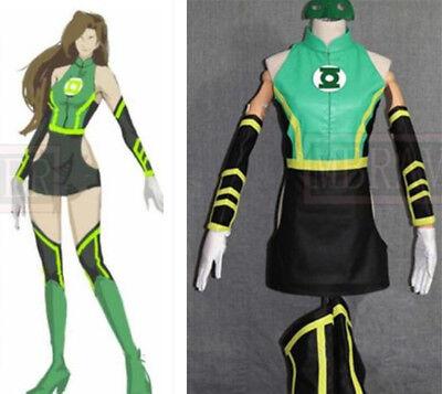 DC Comics Green Lantern Sex Reversion Costumes Halloween Cosplay Costume {D98} - Dc Cosplay Costumes