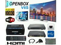 X3 Openbox V8s HD ✮ 36 Months Gift Warranty ✮ Plug and Play ✮ 24 12 F5 F5s Skybox