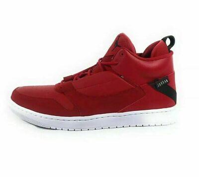 Jordan Fadeaway Mens Basketball Shoes Gym Red Black White