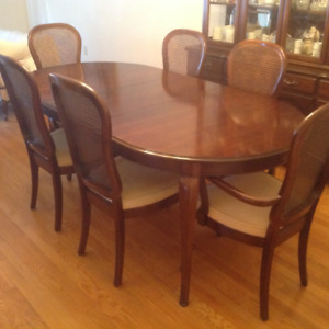 Antique Mission Table With Two Extensions Dining Tables Sets Rh Kijiji Ca Rustic Room