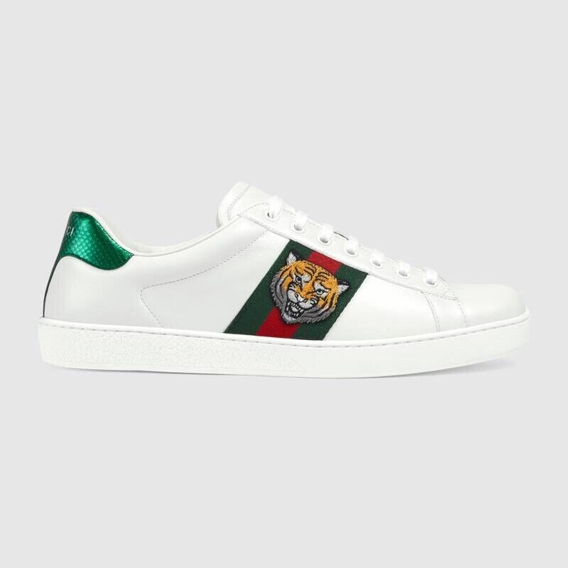 gucci sneakers with lion - 56% OFF