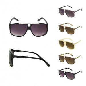Retro-Sunglasses-Aviator-Shades-Vintage-Classic-Unisex-Fashion-Mens-Black-A6