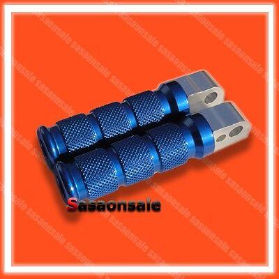 Blue Suzuki Anodized Rear Foot Pegs For Gsxr 600 750 1000 Hayabusa B-king