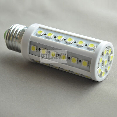 E27 5050 44Led Cool White SMD  Corn bulb lamp 85V-265V 8W Free Shipping on Rummage
