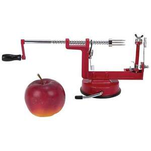 Maxam-Apple-Peeler-Corer-Slicer-Suction-Base-razor-sharp-stainless-steel-blades
