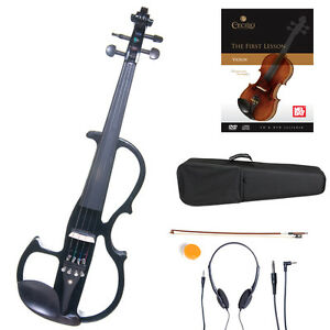 CECILIO-4-4-Electric-Violin-Ebony-Fitted-Black-Style2