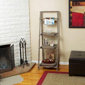 3-Shelf-Reclaimed-Wood-Home-Decorative-Folding-Bookcase
