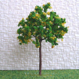 40-pcs-HO-OO-scale-Model-Trees-Yellow-Lotus-7035