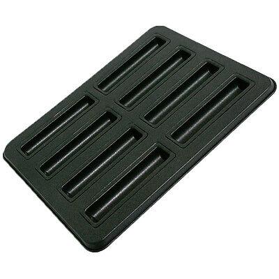 8 cavity Non Stick Metal Batons Cake Mold & Baking Pan, Bakeware, Strips Cakes