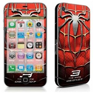 Super Heros Full Body Vinyl Decal Sticker Skin Cover For Apple iPhone 4 4S 5