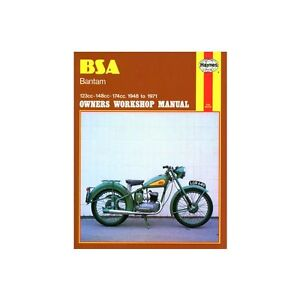 Haynes BSA Bantam 1948 - 1971 Motorcycle Workshop Manual Book Repair