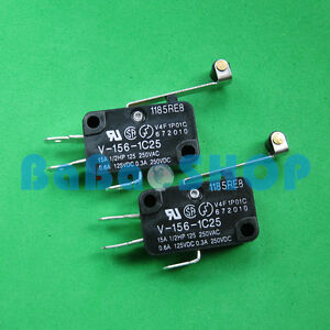6pcs-V-156-1C25-OMRON-MIN-Basic-NC-NO-Momentary-Limited-Micro-Switch-SPDT-28x16