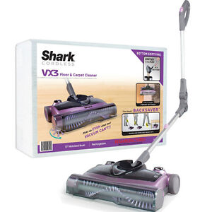 Shark Cordless Electric Floor Sweeper V1950 Portable