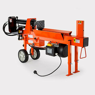 12 tonne electric log splitter