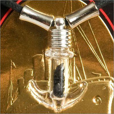 Rms Titanic 100Th Anniversary Coal Anchor Necklace W Coa Authentic Memorabilia