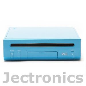 New Nintendo Wii Limited Edition Blue System Replacement Gaming Console Only