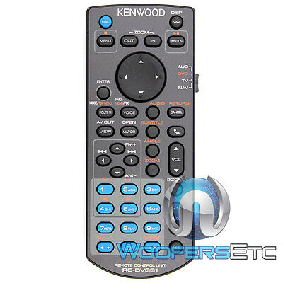 Kenwood Kna-rcdv331 Wireless Remote For Select Kenwood Multimedia Tv Receivers on Sale