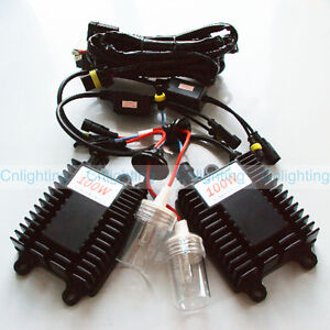 100W AC HID XENON DIGITAL CONVERSION KIT H1 H3 H7 H11 9005 9006 HB3 HB4 D2S