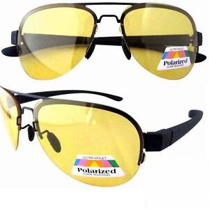 Patent-yellow-polarized-lens-Sunglasses-aviator-night-vision-driving-glasses