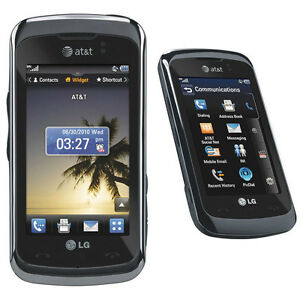 New Unlocked LG Encore GT550 AT&T 3G Cell Phone Touchscreen