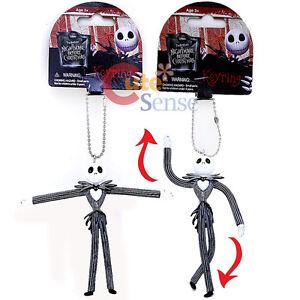 Nightmare-Before-Christmas-Jack-Bandable-PVC-Key-chain-Figure-Key-Holder