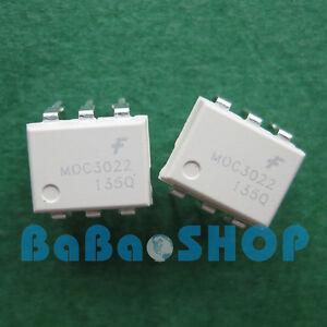 15pcs-MOC3022-3022-random-phase-optoisolators-triac-driver-output-DIP-6-FSC-New