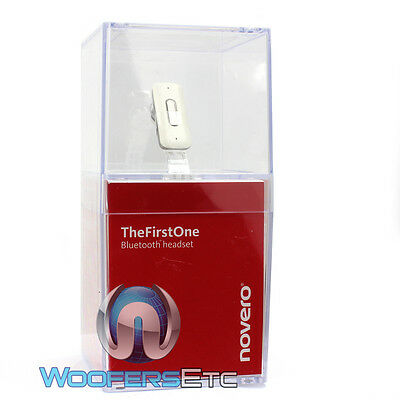 Thefirstone Novero White Bluetooth Handsfree Wireless Earpiece on Sale