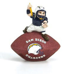 New San Diego Chargers Mascot Desk Paper Weight Football