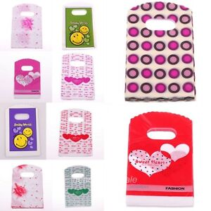 50pcs-Wholesale-Lovely-Small-Pretty-Pattern-Plastic-Jewelry-Gift-Bag-152-90mm