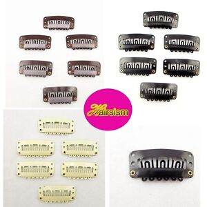Free-Shipping-Hot-Any-color-Weft-U-shape-Metal-Snap-Clips-for-hair-extensions