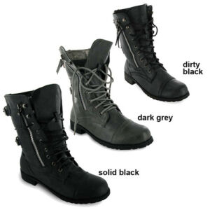 NEW-LADIES-MILITARY-ARMY-COMBAT-WORKER-BOOTS-SIZES-3-8