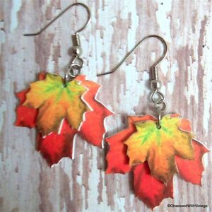 orange-yellow-fall-autumn-maple-leaf-charm-earrings