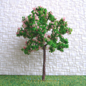 40-pcs-HO-OO-scale-Model-Trees-CherryBlossom-7035