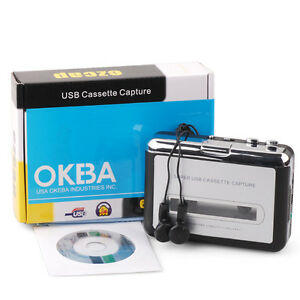 WALKMAN-Tape-to-PC-USB-Cassette-to-MP3-Converter-Capture-Audio-Music-Player