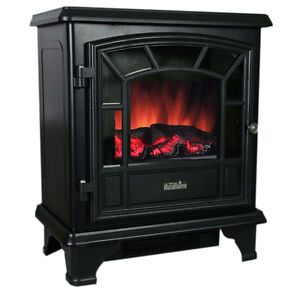 Duraflame Electric Fireplace Heater Classic Black Stove Ebay