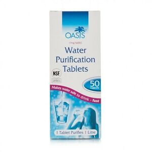 how to make water purification tablets