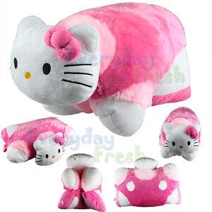 NEW-Hello-Kitty-Transforming-Pet-PILLOW-Cushion-Bed-Car-Nap-Plush-Doll ...