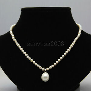 3-4mm-white-freshwater-pearl-necklace-18-12-15mm-white-shell-pearl-pendants