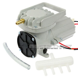12 Volt Aquarium Air Compressor Aquaculture Water Fish Aeration Hi Pressure Pump