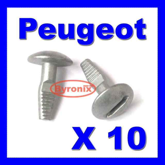 PEUGEOT ENGINE UNDERTRAY UNDER SHIELD RETAINING FIXING COVER CLIPS TURN BOLT