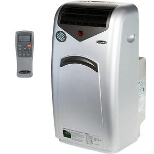 Portable Air Conditioner Heat Pump, Dual Hose AC Dehumidifier & Fan + Window Kit