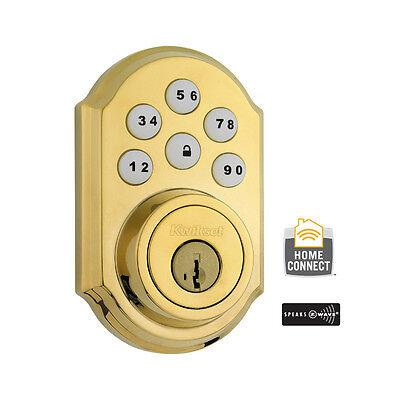 2gig Kwickset Deadbolt Home Connect Motorized Door Lock Smartcode Zwave