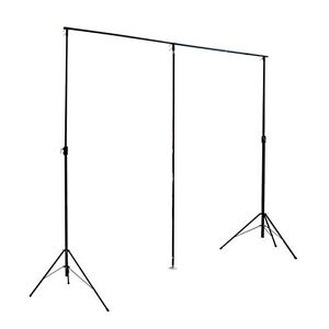 LEDJ 6m x 3m starcloth star cloth stand backdrop inc transport bag